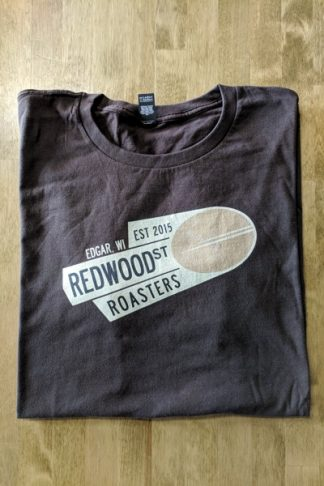 Redwood St Roasters T-Shirt - Brown