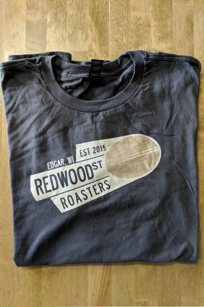 Redwood St Roasters T-Shirt - Gray